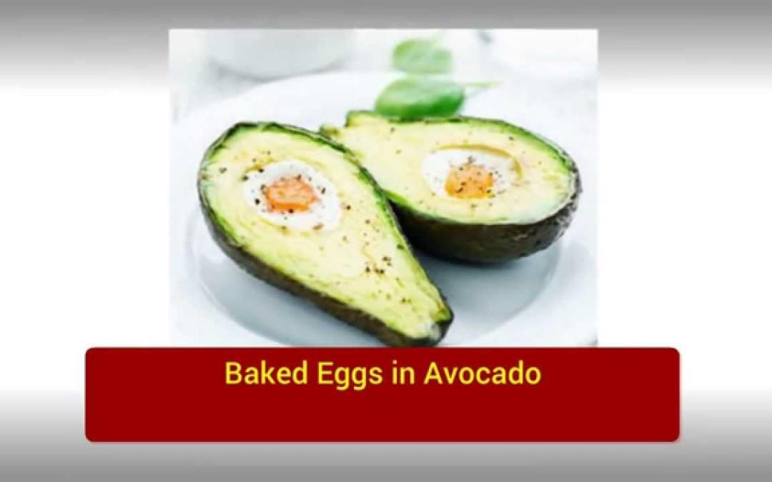 01  Baked Eggs in Avocado   breakfast ideas for diabetics   diabetic breakfast recipes