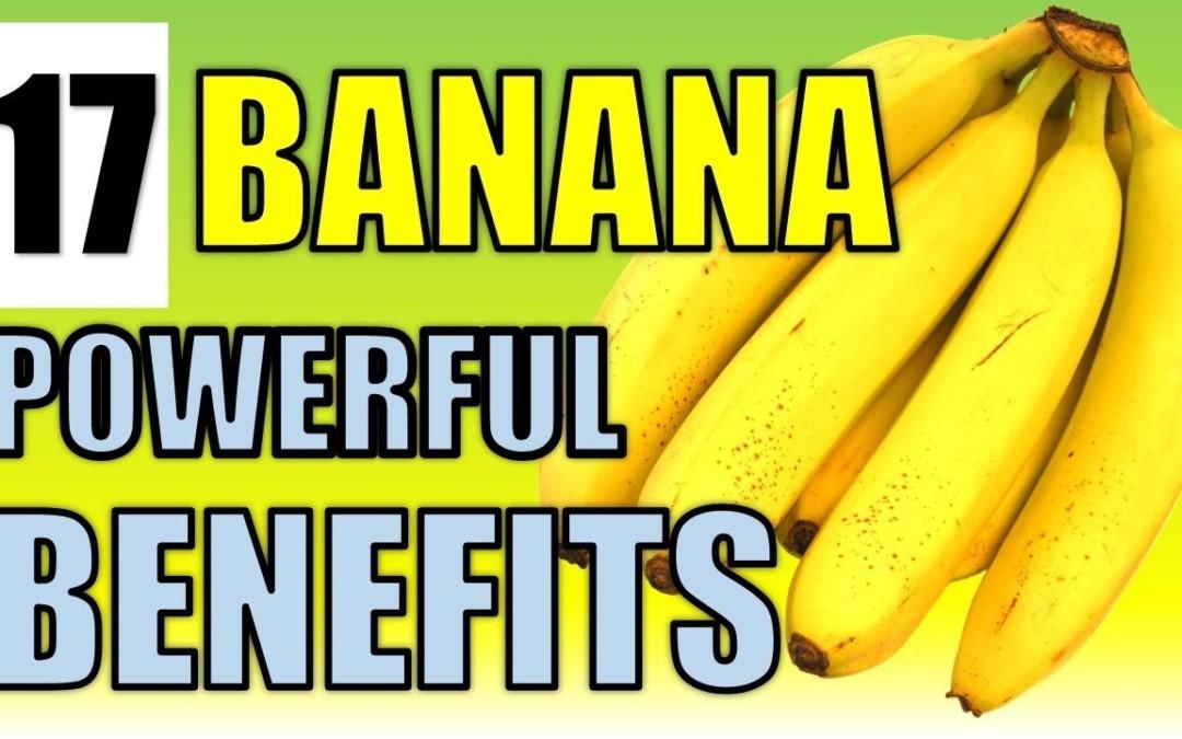 17 Brilliant Health Benefits of Banana's including Weight loss, Skin & Diabetes