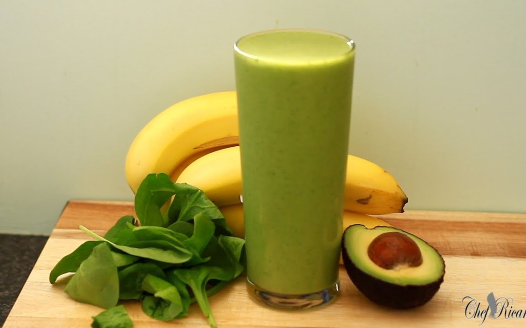 Avocado And Right Banana Smoothie In The Morning Weight Loss Drink   Recipes By Chef Ricardo
