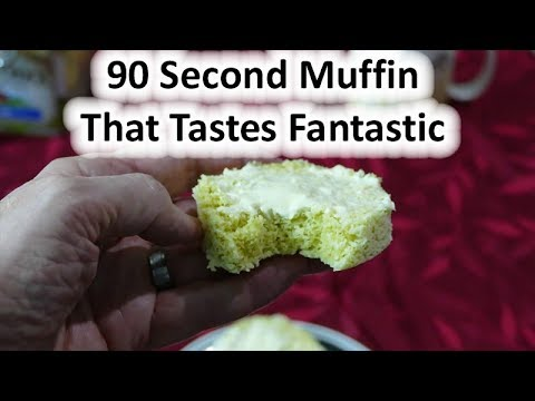 Bread muffin that's fast, easy, and low carb
