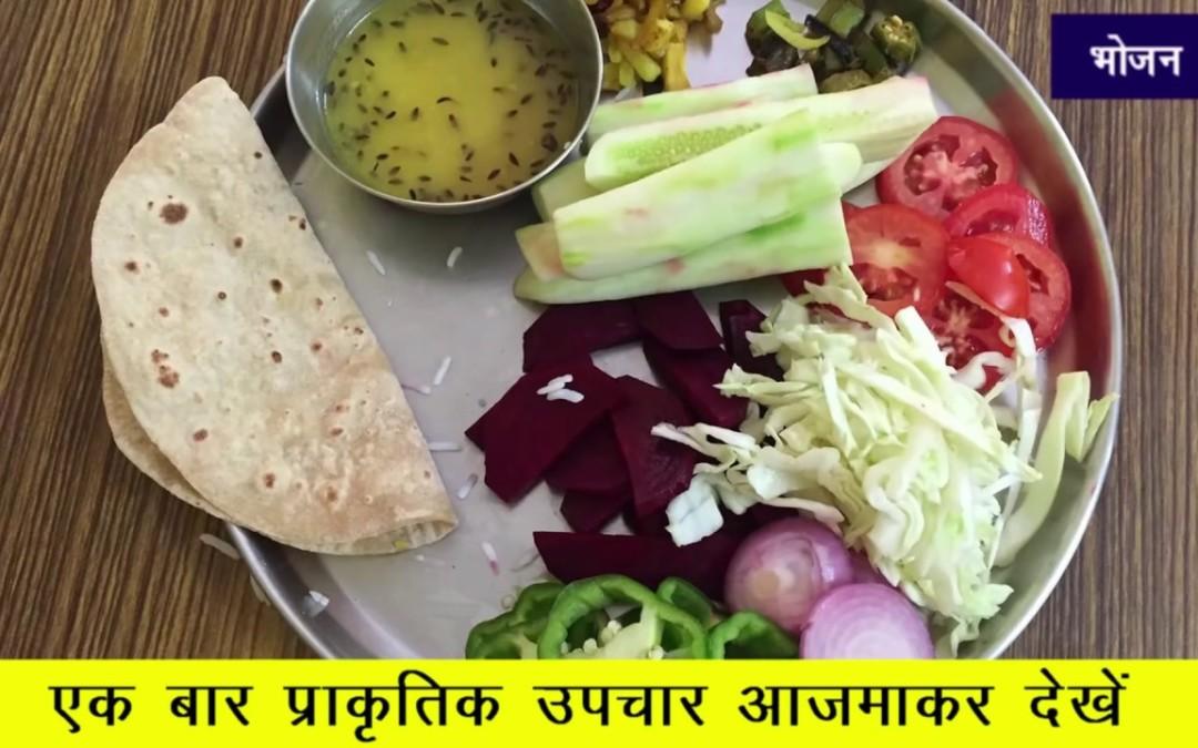 Diabetes : Metabolic Diet Chart for Type 2 Diabetes in Hindi by Dr. Vijay Raghavan