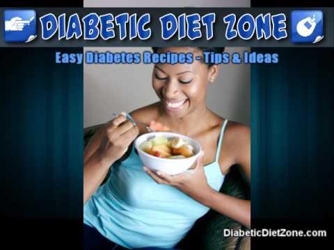 Easy Diabetes Recipes   Diabetic Diet   Info on Diabetes Ty