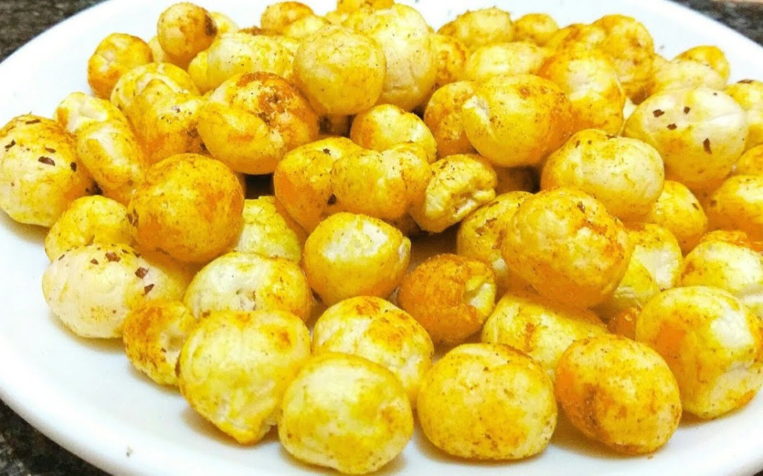 Makhana snack recipe/makhana maza/weight loss recipes/diabetic food/high fibre recipe/quick snack