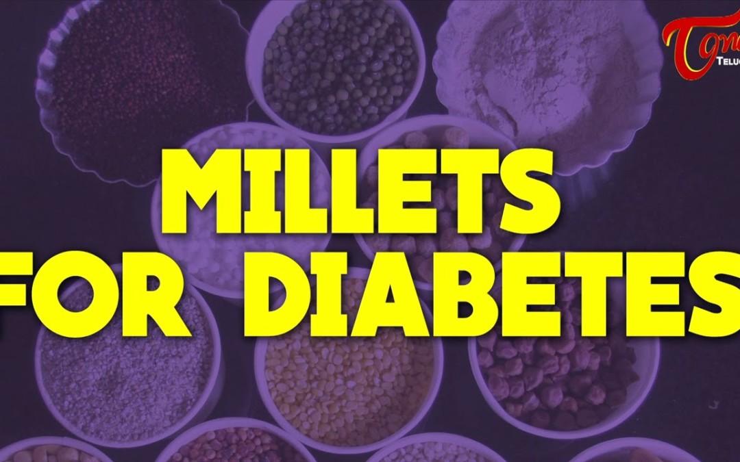 Millets For Diabetes || Right Diet || by Dr. Janaki Srinath