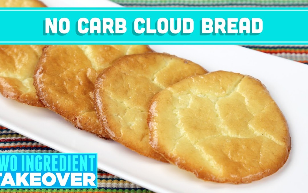 NO Carb Cloud Bread! 3 Ingredient Takeover – Mind Over Munch
