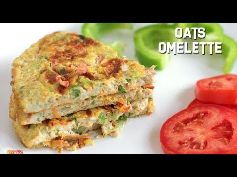 Oats Omelette   Healthy Breakfast Recipe   Diet Food