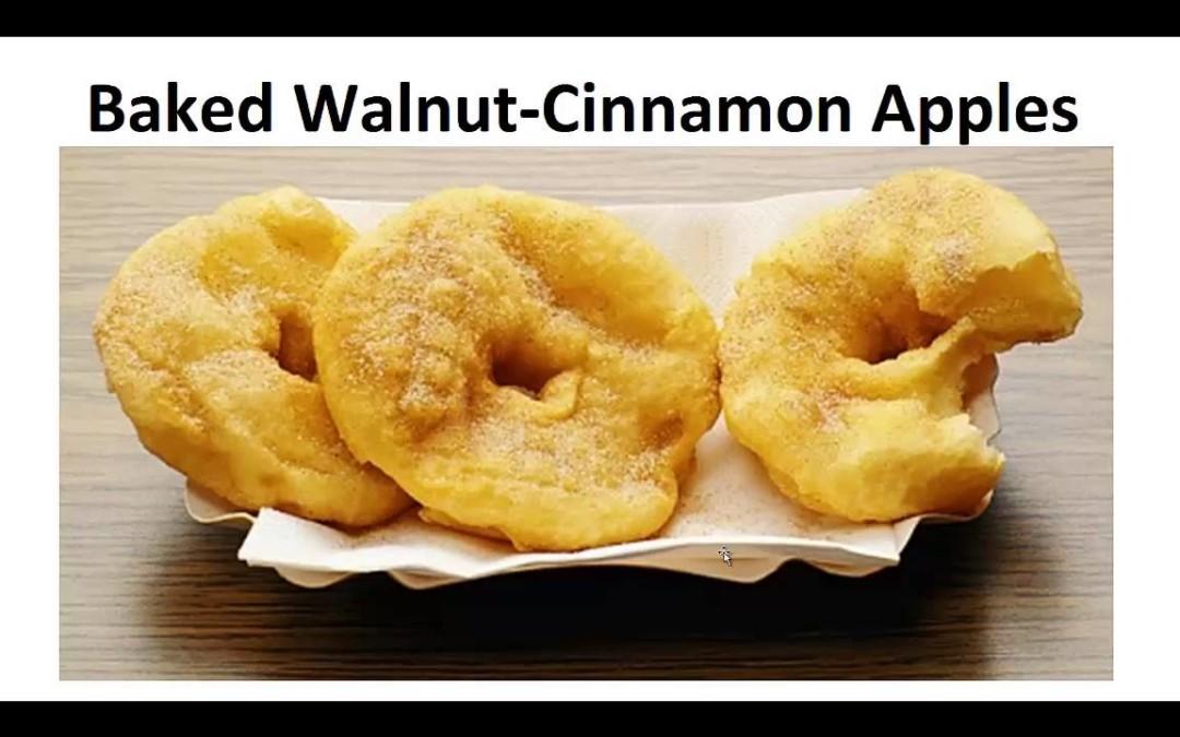 Paleo Desserts – Baked Walnut Cinnamon Apples By A Former Diabetic