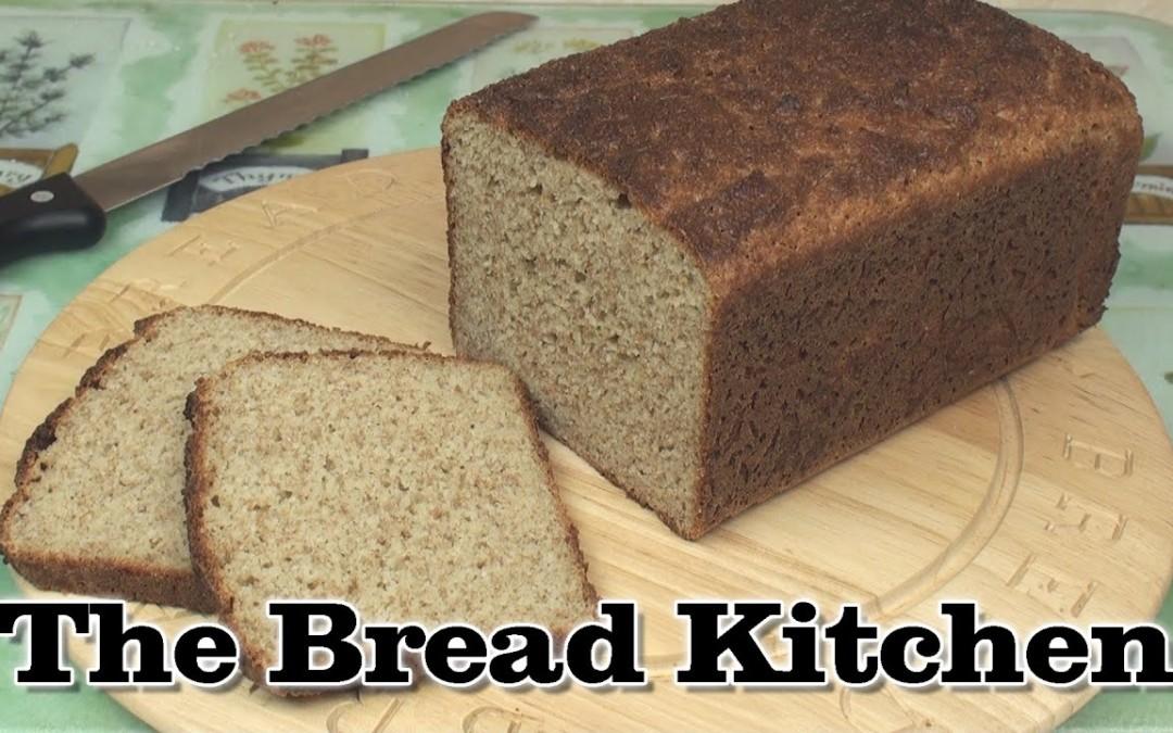 Reduced-Carb Almond Bread Recipe in The Bread Kitchen