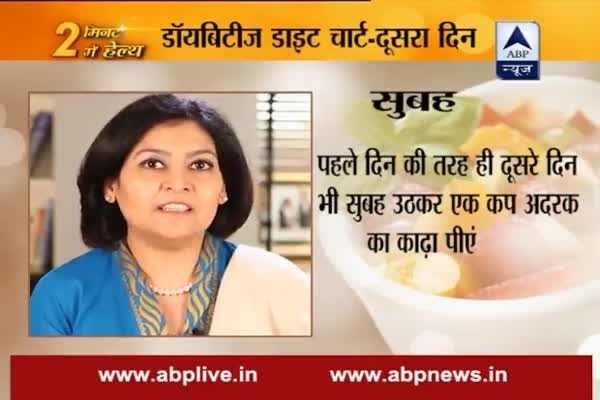 Stay fit in 2 mins: Day 2: Balanced diet chart for diabetic patients