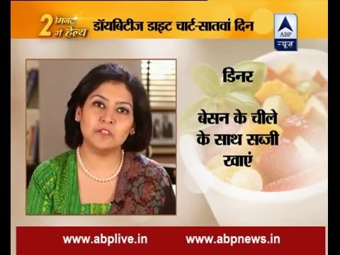 Stay fit in 2 mins: Day 7: Balanced diet chart for diabetic patients