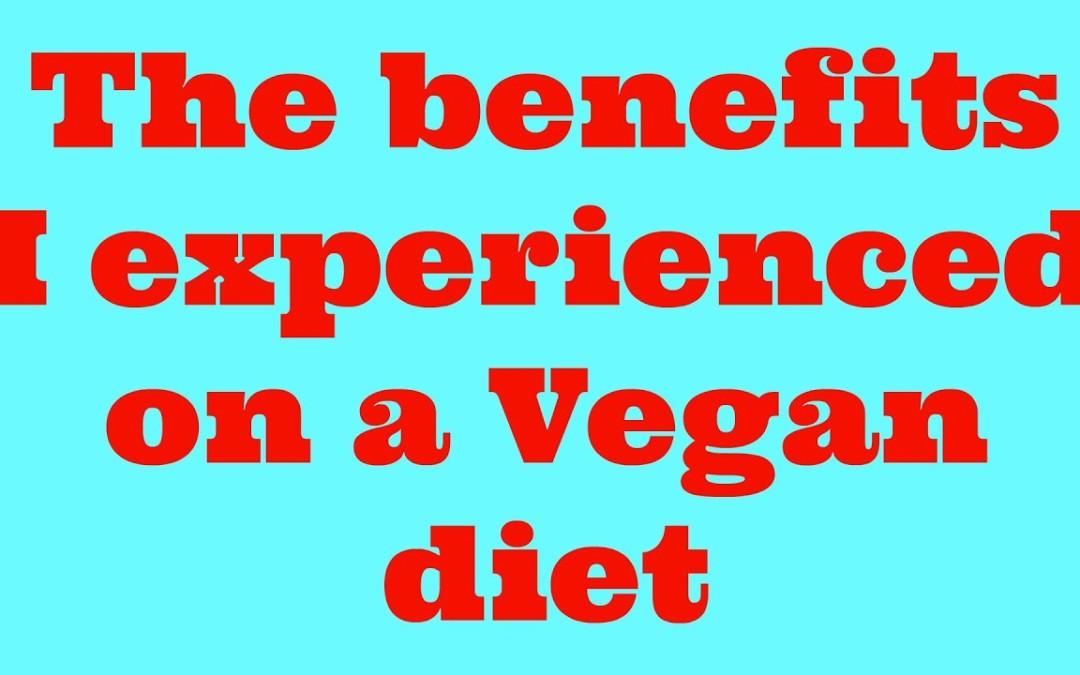 The benefits a diabetic got on a plant based vegan diet