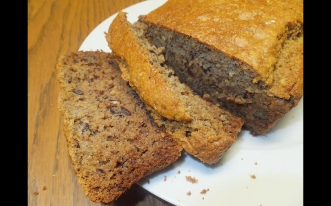 The Tastiest Whole Grain Sugar Free Banana Bread ~ Great Recipe for Diabetics