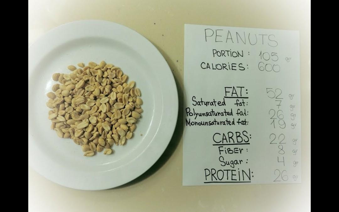 #12 Peanuts: 600 calorie keto blood sugar tests