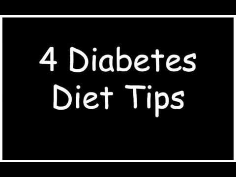 4 Diabetic Diet Tips | Meal Plans for Diabetics | Diabetic Diet Plan | Best | Easy