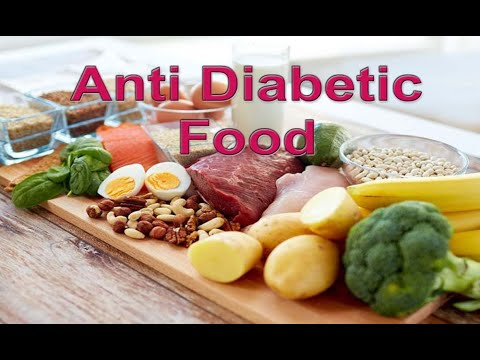 An effective anti-diabetic food