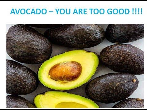 """AVOCADO – """"GOOD FRUIT FOR DIABETICS"""""""