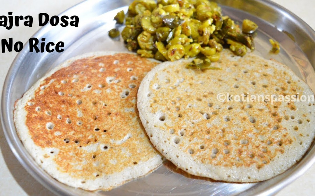 Bajra Dosa Without Rice Pearl Millet Dosa Diabetic Breakfast Recipe Weight Loss Recipe
