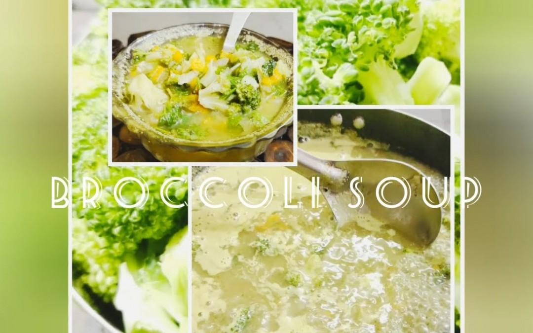 Broccoli soup/Healthy soup/keto diet/diabetic recipes/Broccoli recipe/for kids