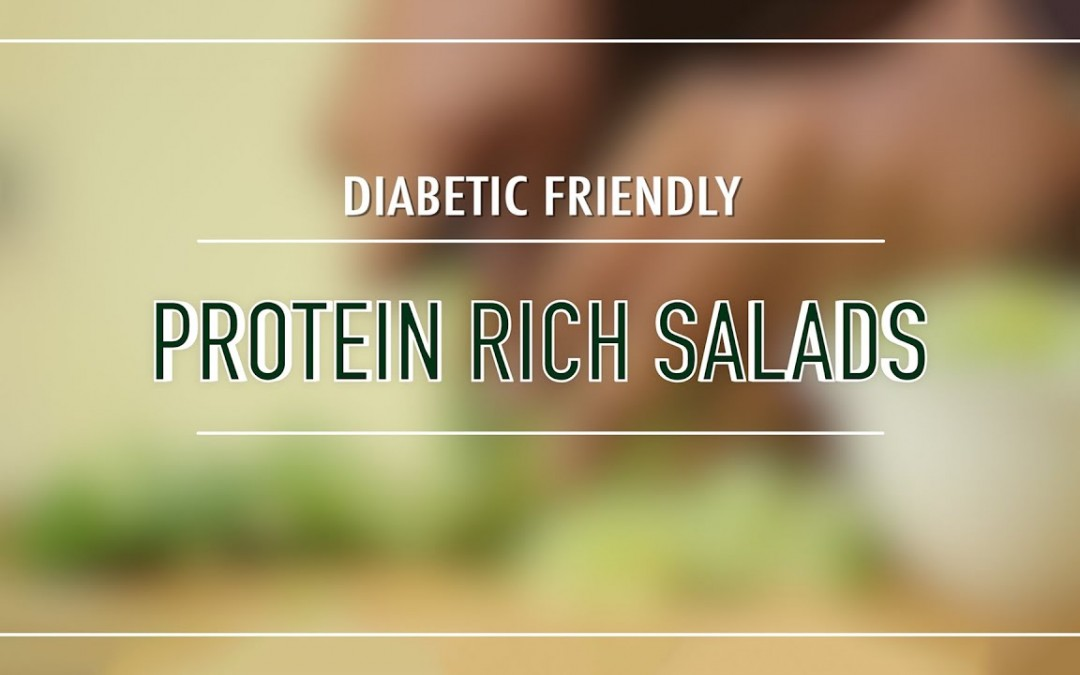 Diabetic-friendly Protein Salads – South Indian – Salad recipes in Tamil