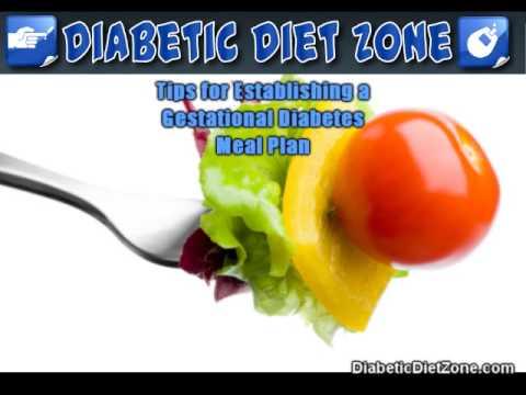 Gestational Diabetes Meal Plan | Diabetic Diet | Info on Di