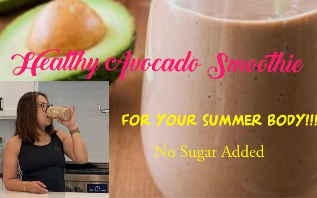 Healthy Avocado Shake With Chia Seed    Food Vlog