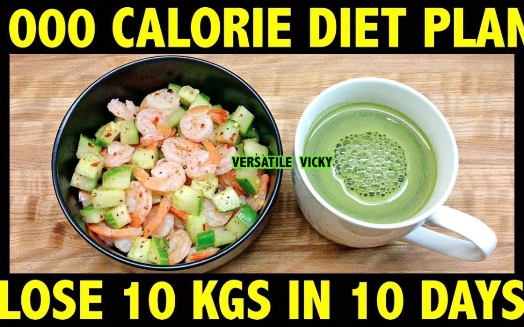 HOW TO LOSE WEIGHT FAST 10Kg in 10 Days   1000 Calorie Diet Plan Hindi   Lose 1Kg In 1 Day