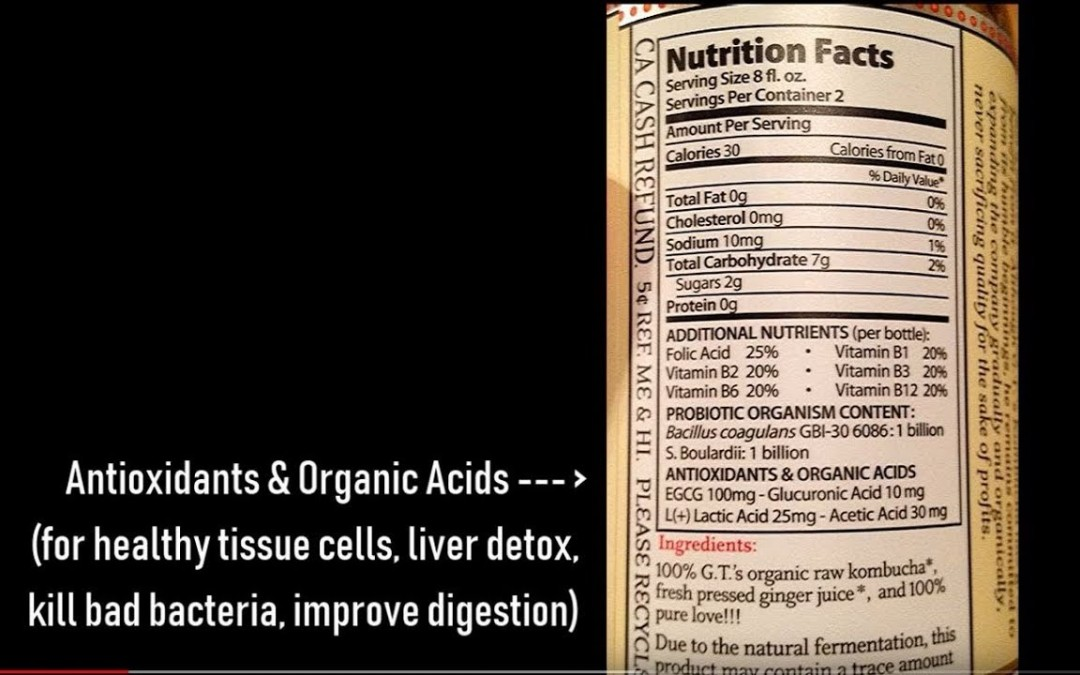Kombucha Nutrition Facts, Benefits, Dangers (Heart, Diabetes, Cancer)