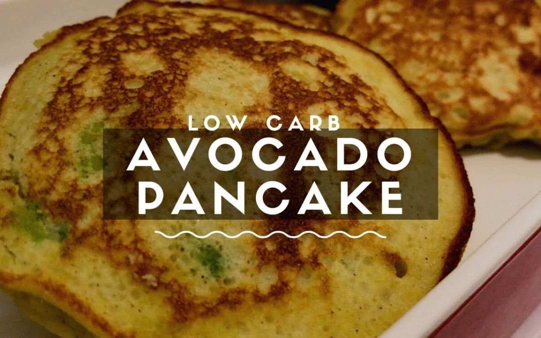 Low Carb Avocado Pancake for Healthy Diet