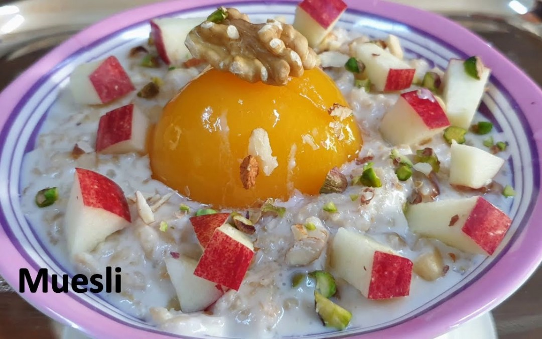 Muesli – a healthy breakfast, best for sehri, (for diet conscious, diabetic and weight watchers)