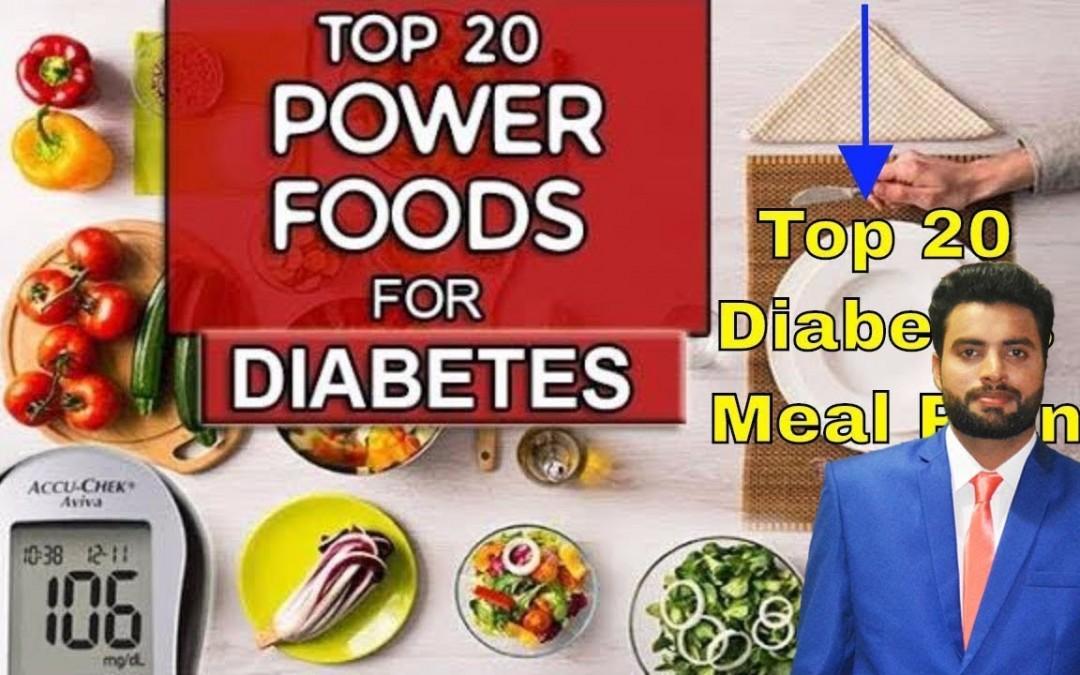 Top 20 diabetes meal plan | Diabetes meal plan | Diabetes food plan | Online Master
