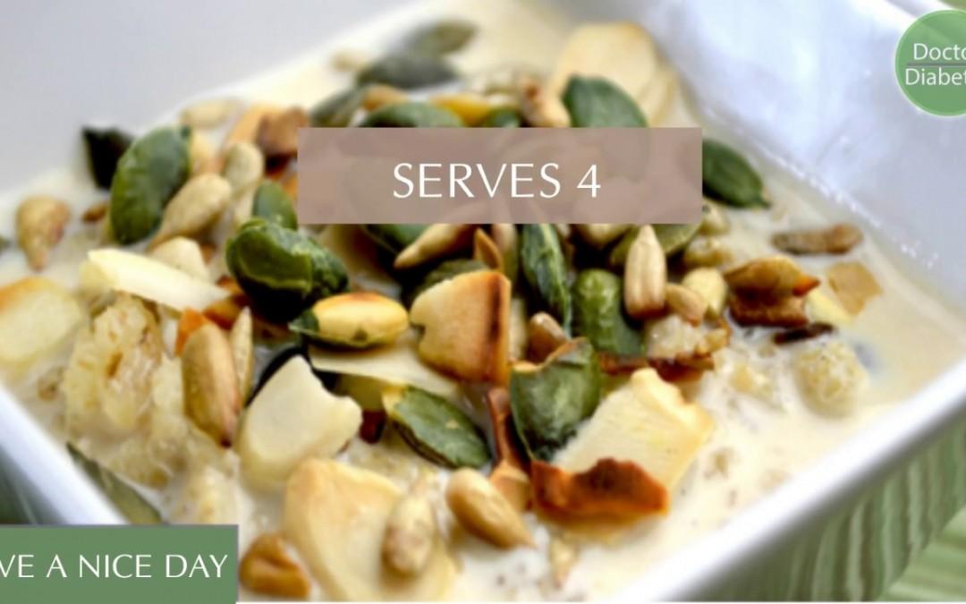 healthy diabetic recipes low calorie for control diabetes:  Barley Porridge