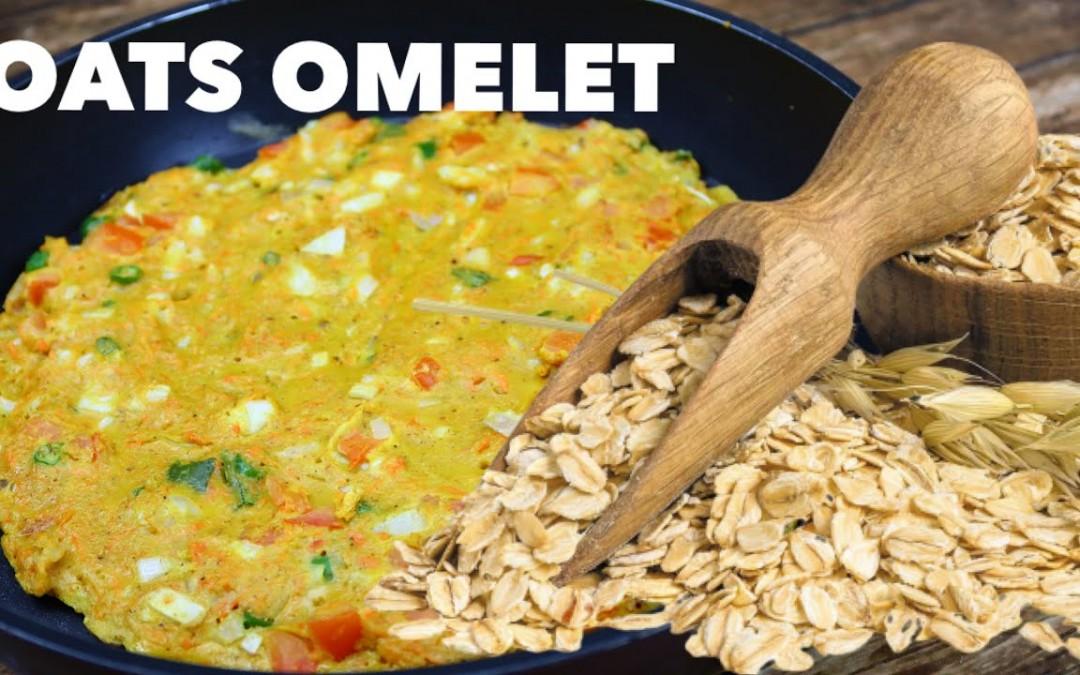 Diet Plan Recipe   Weight Loss Breakfast   Oats Omelet For Breakfast