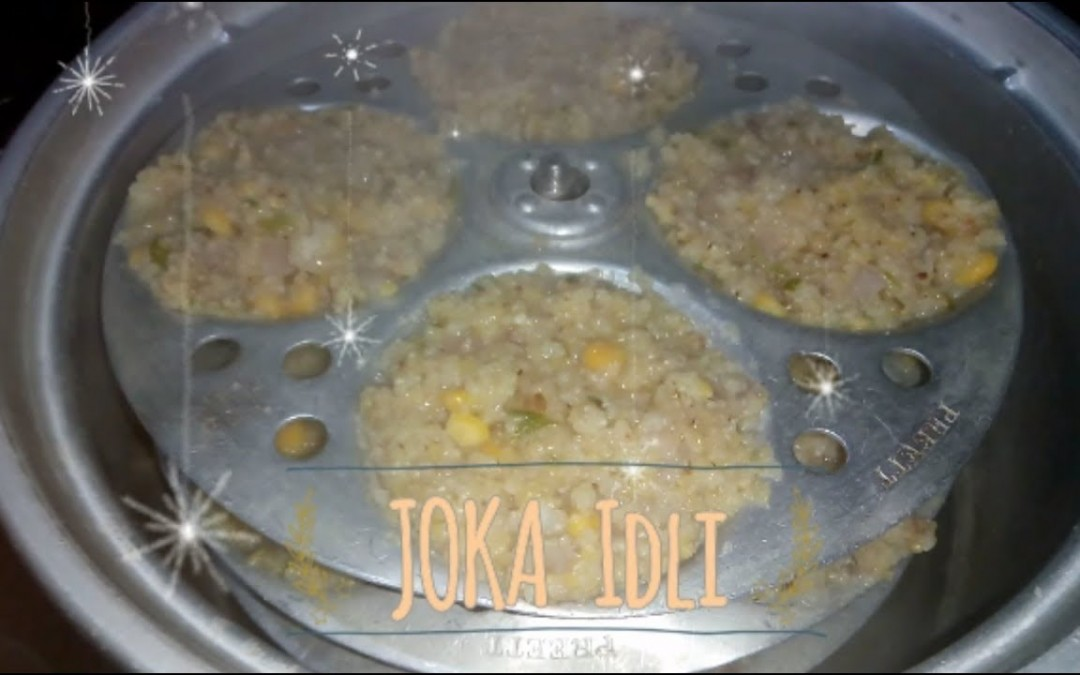JOKA IDLI   Healthy food for all   Especially for DIABETIC People
