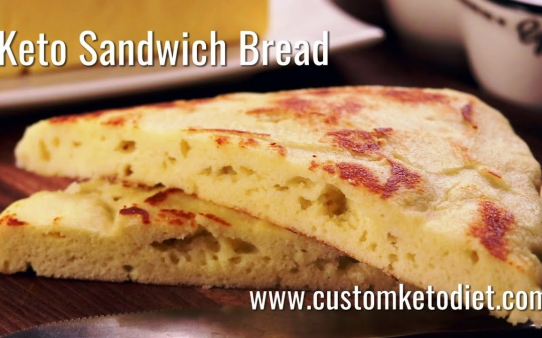 Keto Recipe: Keto Sandwich Bread (Custom Keto Diet)