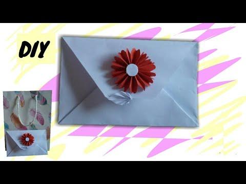 Origami Flower Invitation Envelope