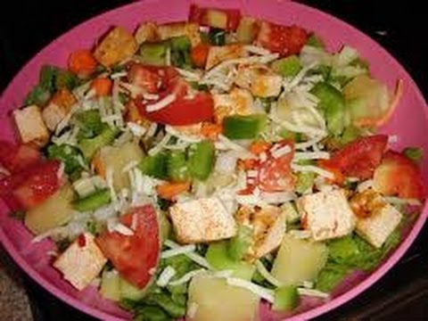 Pineapple salad – HEALTHY FOOD – DIABETIC FOOD – How To QUICKRECIPES
