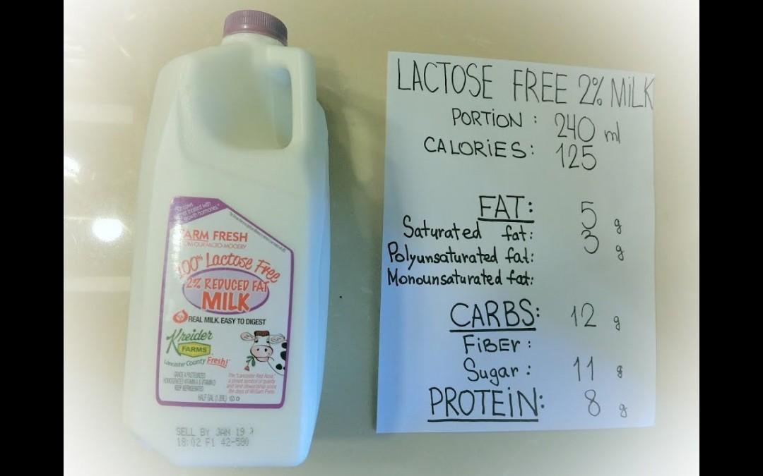 #19 2% Lactose free milk: 600 calorie keto blood sugar tests
