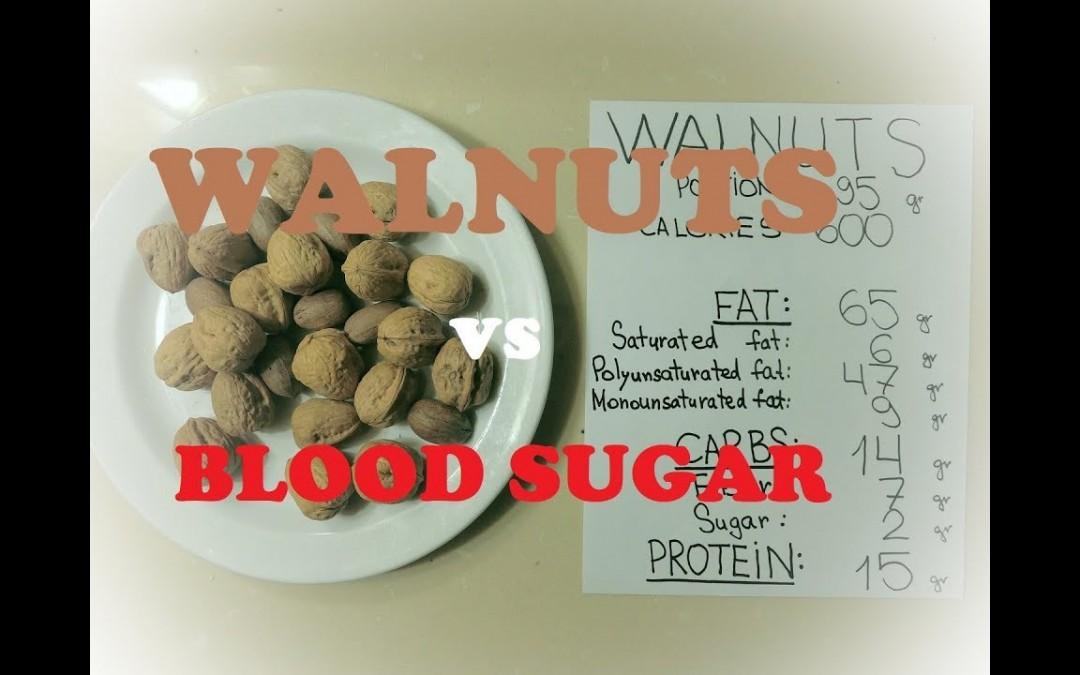 #31 Walnuts: 600 calorie low carb blood sugar tests
