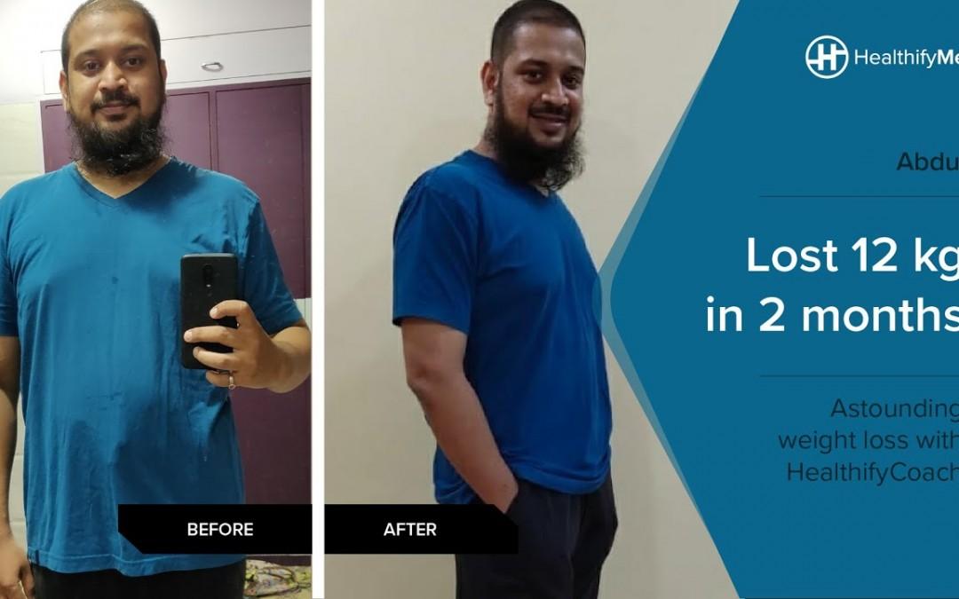 Abdul Qadir's Journey of Losing 12 kg in 2 months despite Diabetes & Cholesterol   HealthifyMe