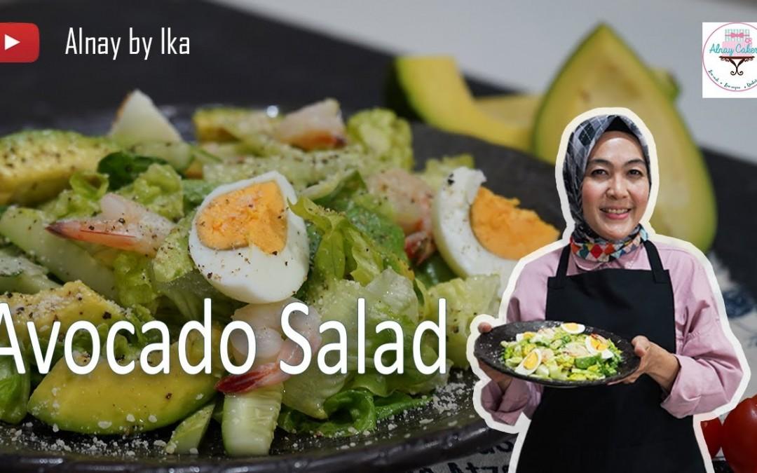 Avocado Salad, KETO bisa makan sayur?? Keto    Low Carb