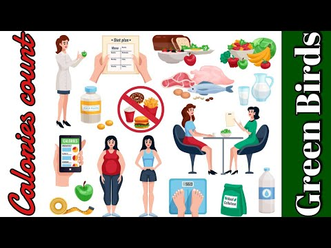 Calories Count of Different Food   Diabetic diet (Part 3)