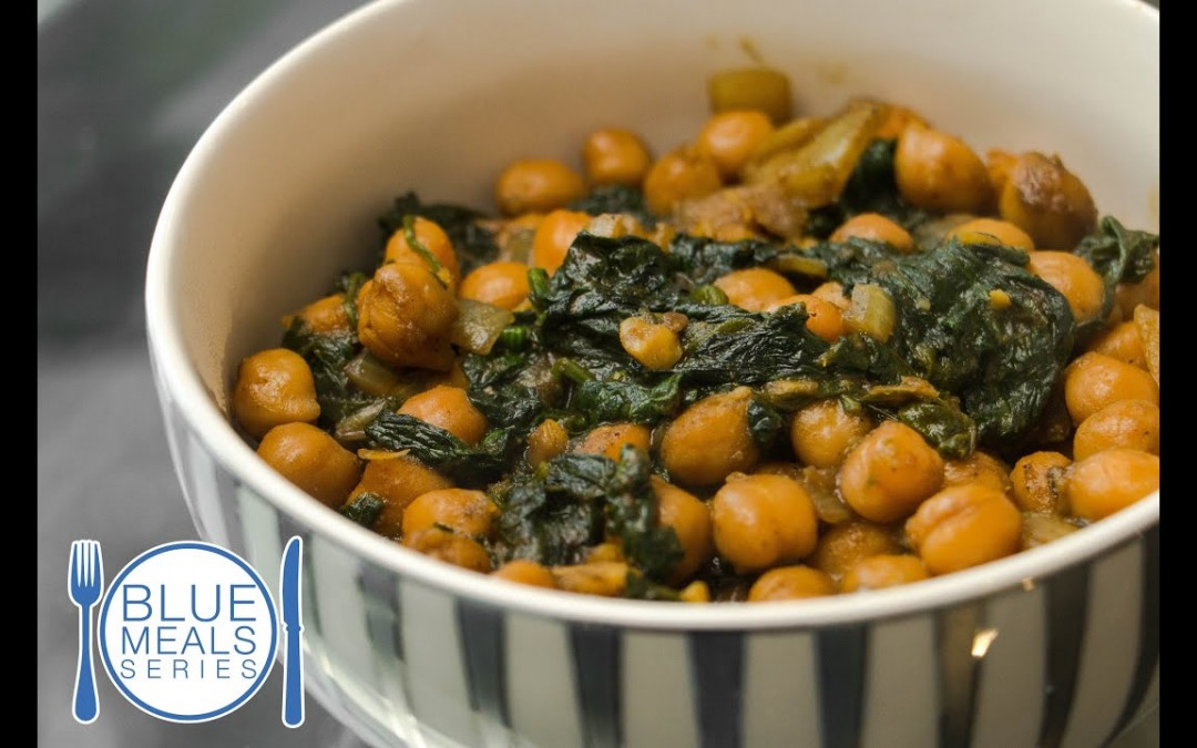 Curry Chickpeas With Spinach   Diabetes-Friendly Recipe   Blue Meals
