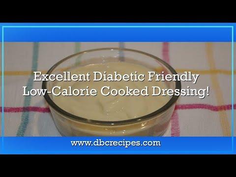 Excellent Diabetic Friendly Low-Calorie Cooked Dressing.