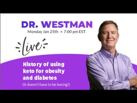History of using keto for obesity and diabetes