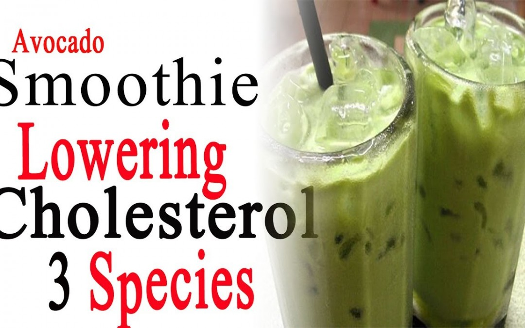 How To Lower Cholesterol Naturally | Avocado smoothie lowering cholesterol 3 species