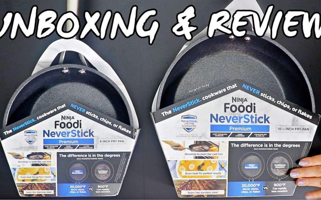 Ninja Foodi NeverStick Cookware Review   Ninja Foodi NeverStick Pan Test   Ninja Kitchen