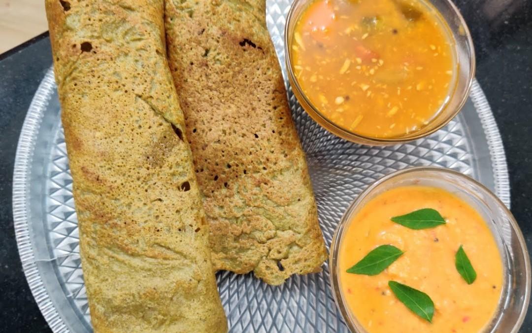 Pesarattu / Indian Breakfast Ideas for Weight loss / Diabetics Food / Healthy Breakfast Recipes