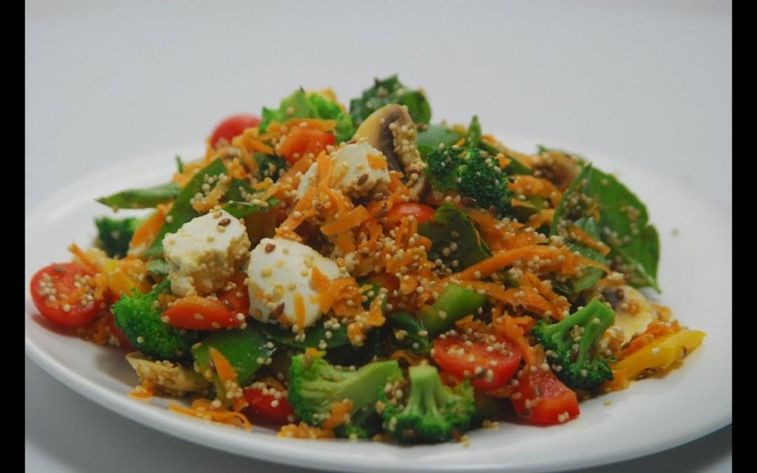 Power Packed Salad | Cooksmart | Sanjeev Kapoor Khazana