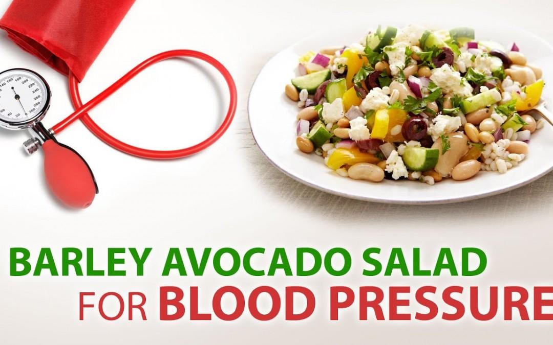 Recipe for Blood Pressure | Barley Avocado Salad | Mikita Gandhi