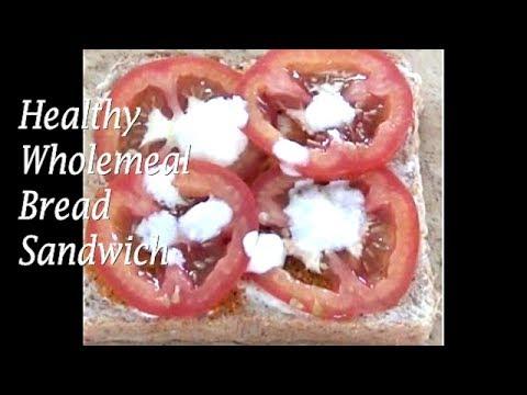 Wholemeal Healthy Bread Sandwich